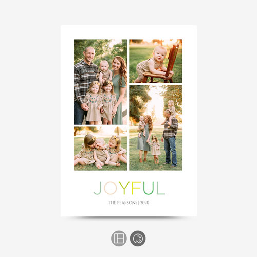 Family Selfie Greeting Card
