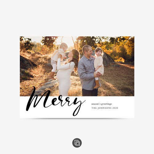 Maternity Christmas Card 0418
