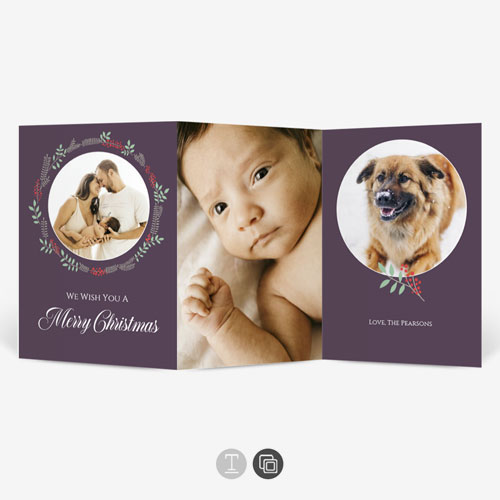 Christmas Baby Announcements